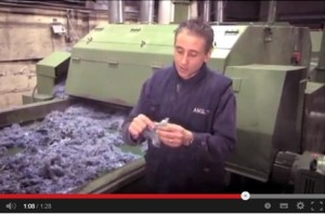 See how Inno-therm® insulation is made from recycled denim clothing.