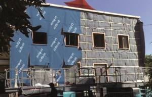 Development using sustainable insulation
