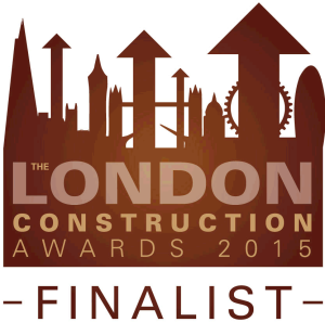 London Construction Awards 2015 Finalist logo